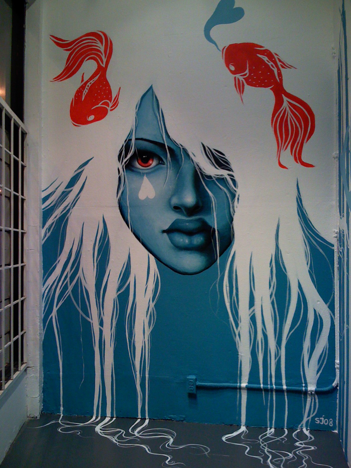 Sarah joncas keepitight for Contemporary mural art