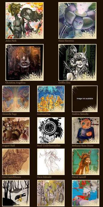 Some of the Artists that will be painting LIVE at LIB 2011